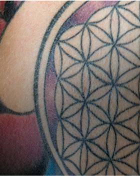 Tattoo Крупный план