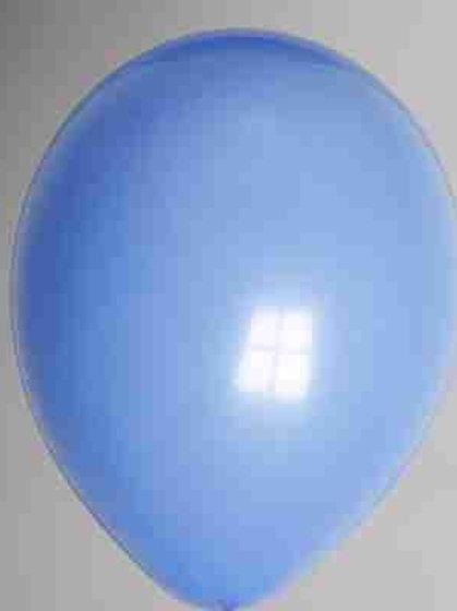 Ballon 30 cm ultramarineblauw per 1 stuks
