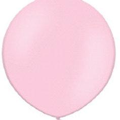 Ballon 90 cm parel rose