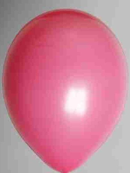 Ballon 30 cm donker rose per 50 stuks