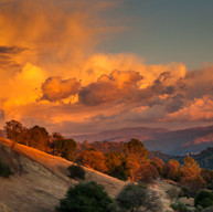 """Sunset in the Sierra Foothills"""