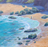 """Fisherman At McClure's Beach"""