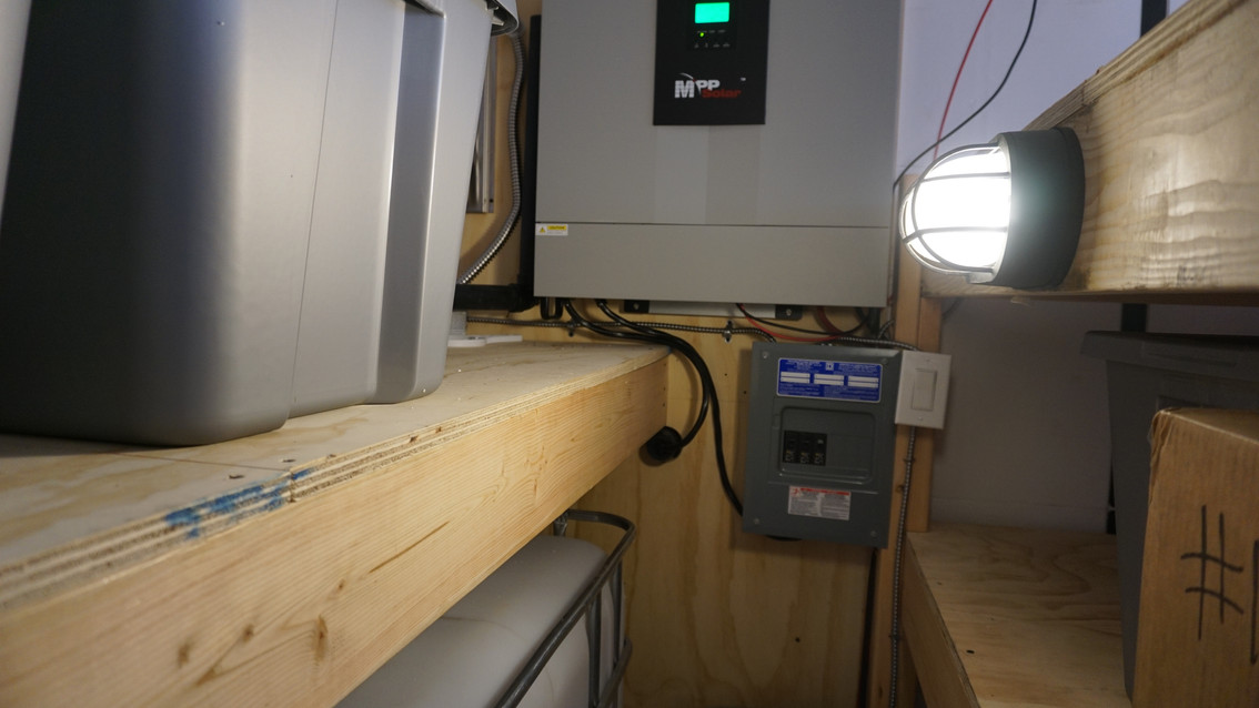 Emergency Food Supply Bunker Inverter