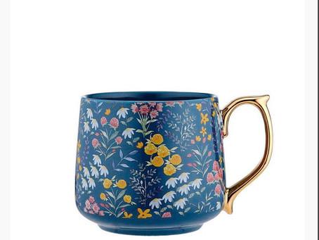 Flowering fields mugs