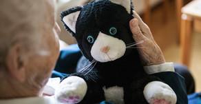 Engelsk studie: många fördelar med robotiserade husdjur på äldreboende
