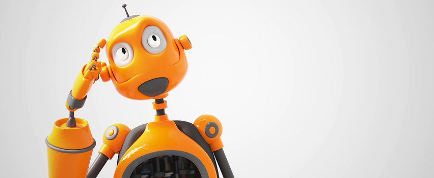 23213330-yellow-cartoon-robot-thinking-a
