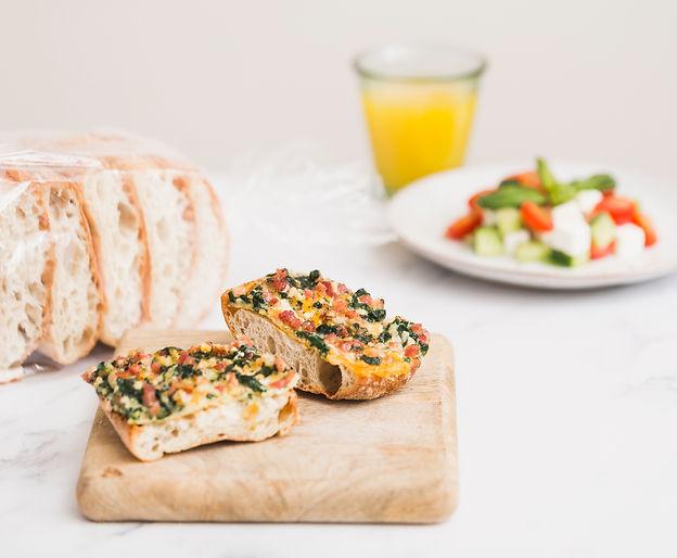 Recetas para la cena con pan Cristallino