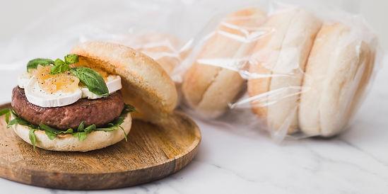Receta deliciosa con cristallino burger cristal de ternera y queso de cabra