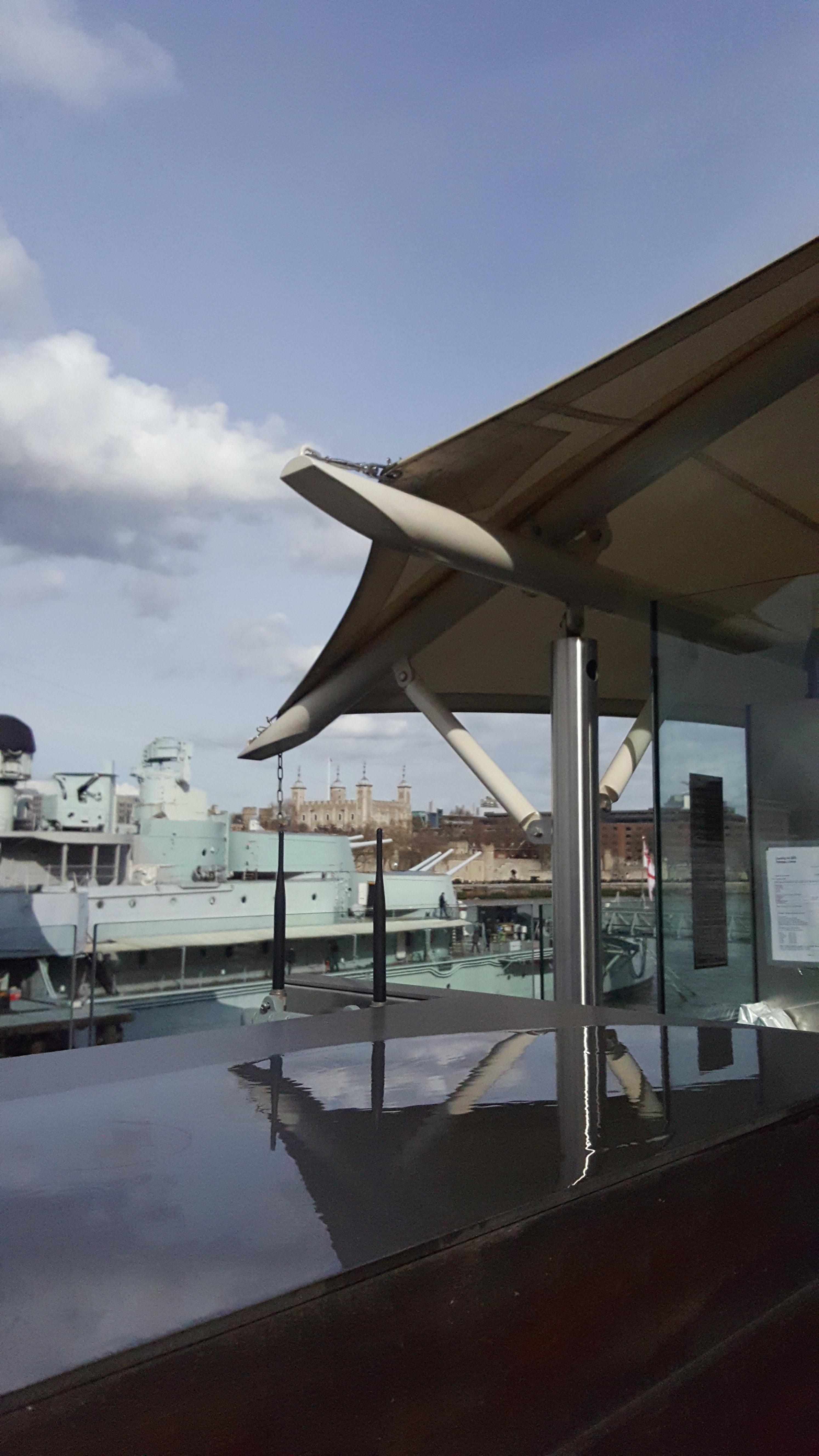 HMS Belfast Upper Deck Bar Sail4