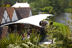 Le Talbooth Hotel River Terrace Sail