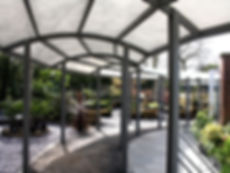Hambrooks Garden Covered Walkway Shade