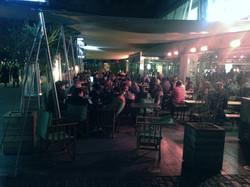 Benugo BFI Canopy At night