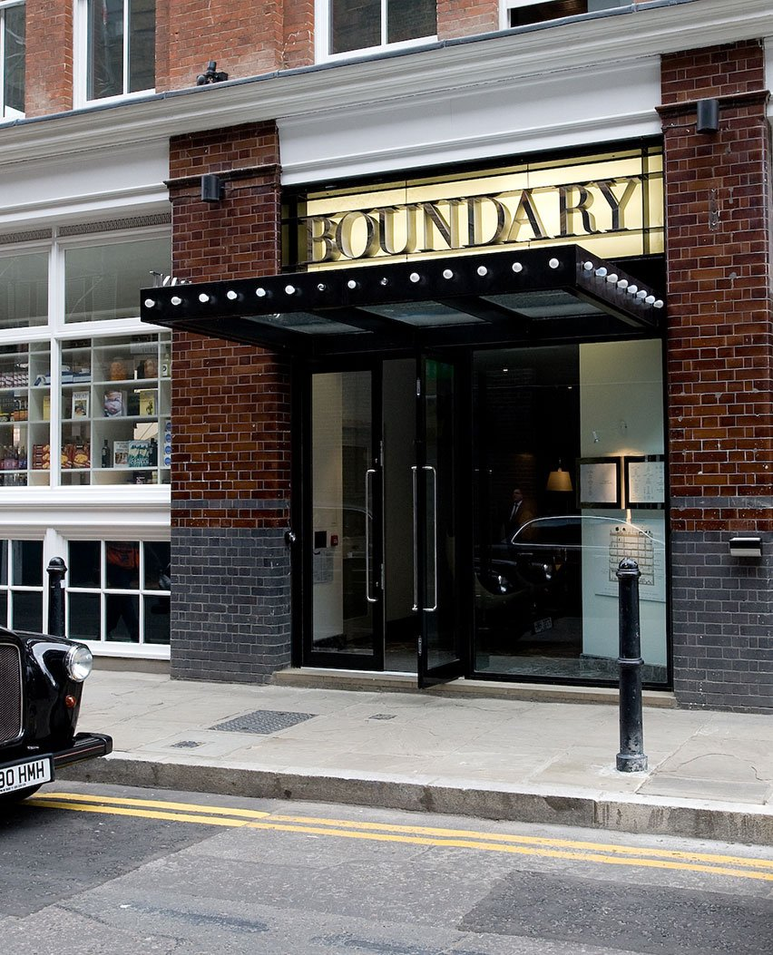 Boundary Street Entrance