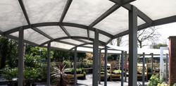 Hambrooks Garden Covered Walkway