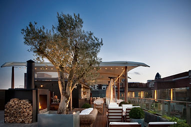 Boundary Rooftop Terrace Sail Canopy