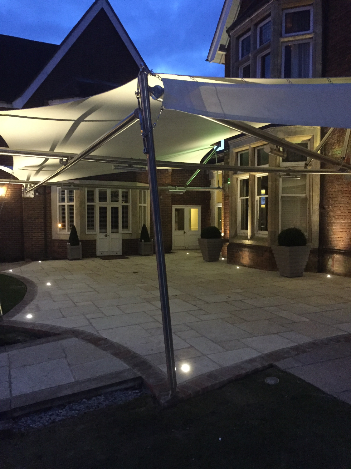 Pontlands Park Hotel Terrace Sail11