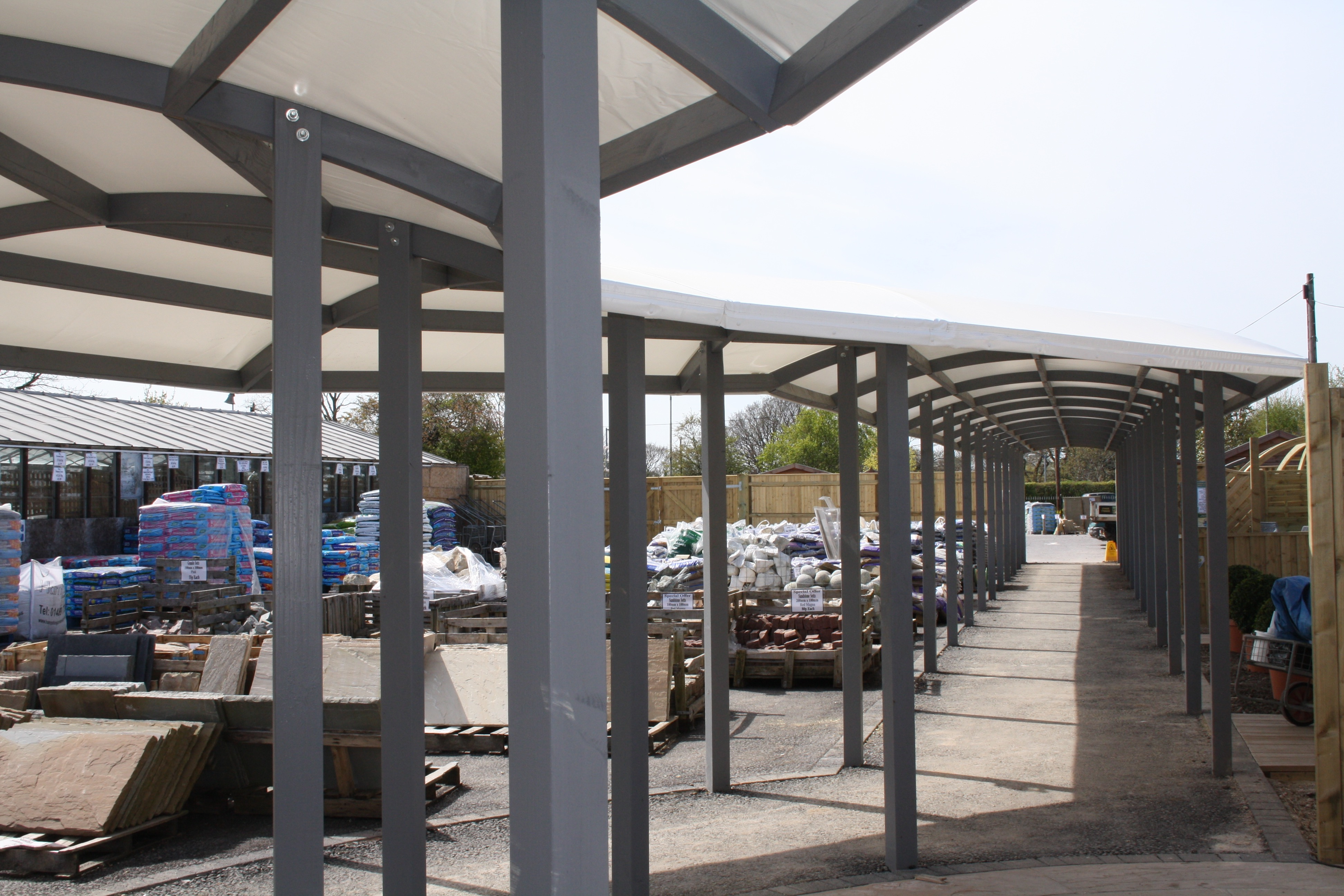 Hambrooks Covered Walkway Canopy4