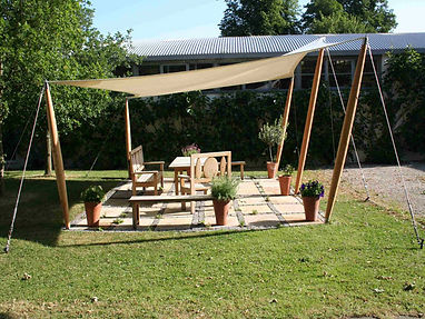 Benchmark Hypar Garden Sun Shading