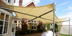 Pontlands Park Hotel Sail Structure