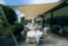 Coq D'Argent restaurant Canopy Sail Awning