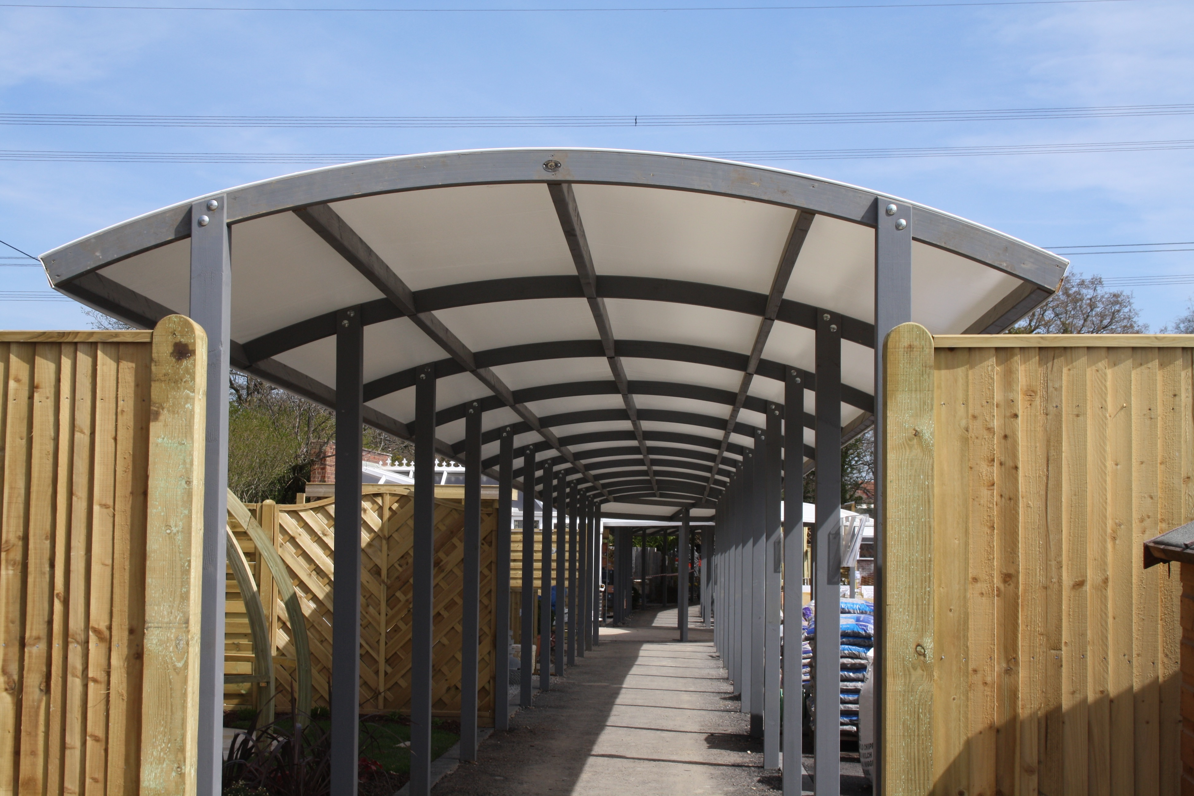 Hambrooks Covered Walkway Canopy2