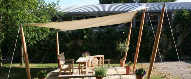 Garden hypar Canopy