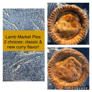 Lamb Pies $10