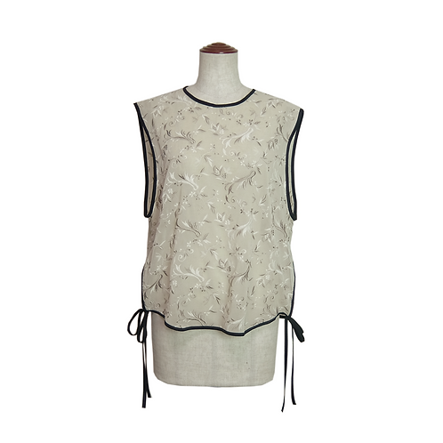 Embroidery Lace Top / BEIGE