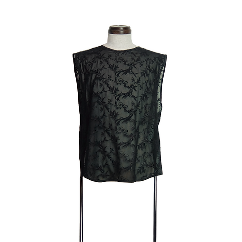 Embroidery Lace Top /BLACK