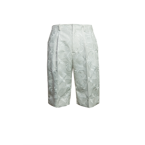 Embroidery Shorts / WHITE