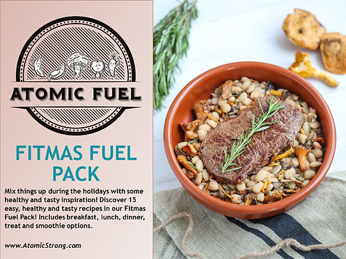Atomic Fuel Fitmas Fuel Pack!