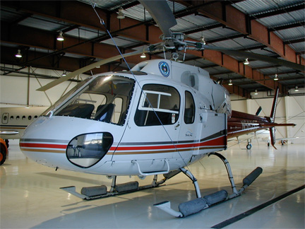 AS350 helicopter appraiser