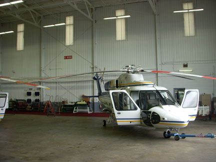 S76B helicopter appraiser