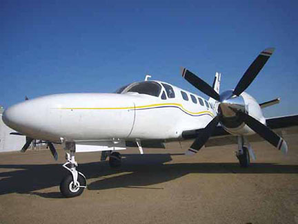 Cessna 441 airplane appraisal