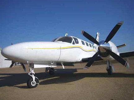 Cessna 441 airplane appraisal