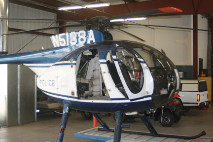 MD 500D helicopter appraisal