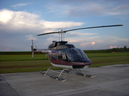 Bell 206L helicopter appraisal