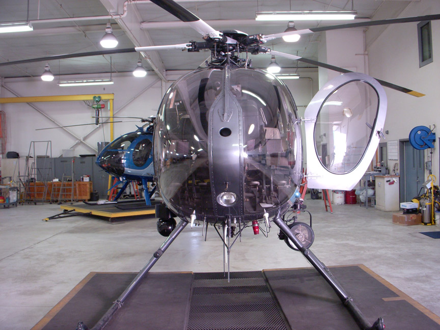 MD520N helicopter appraisal