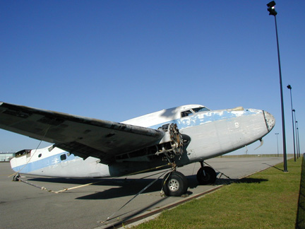 Lodestar museum airplane appraisal