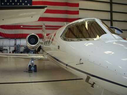 Lear 31 business jet appraiser