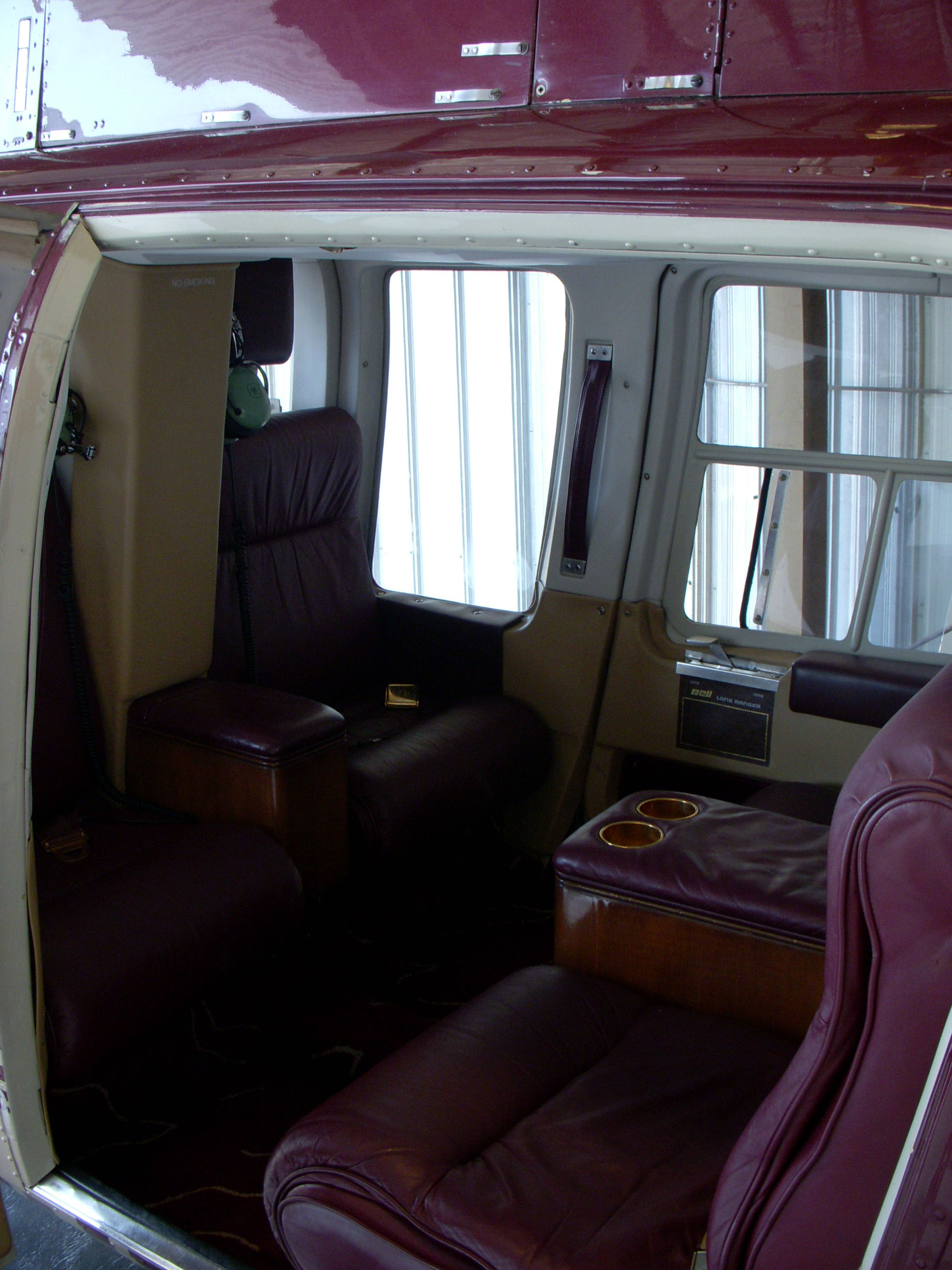 helicopter Interior appraisal