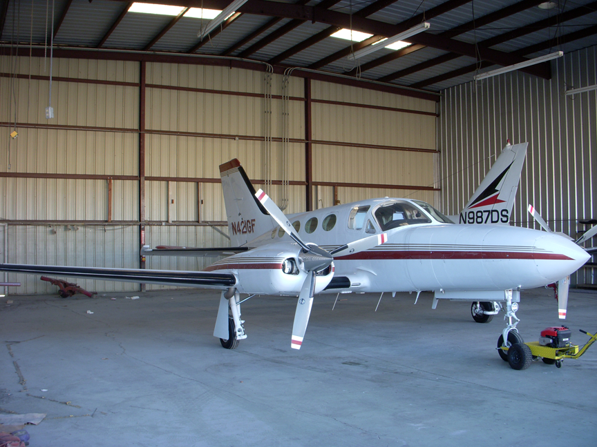 Cessna 421C airplane appraisal