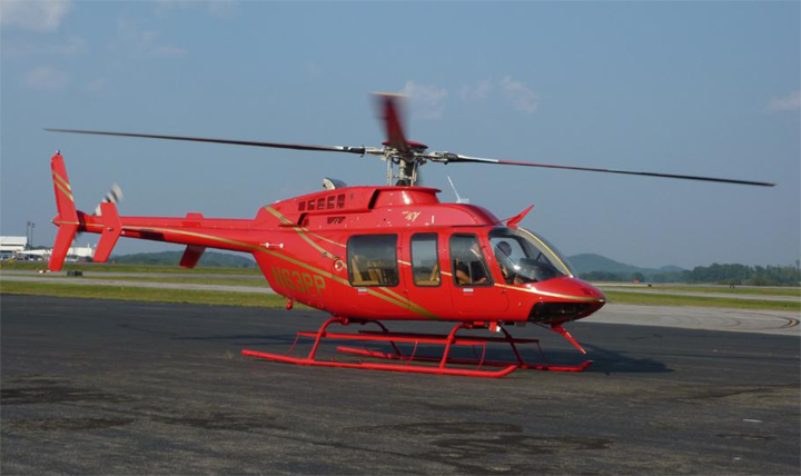 Bell 407 helicopter appraiser