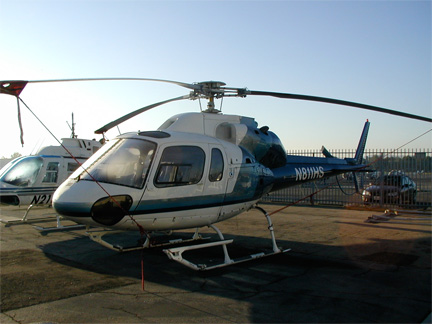 AS 350 Twinstar helicopter appraisal