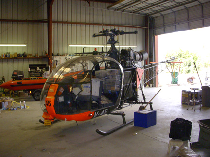 Allouette helicopter appraiser