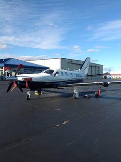 Socata TBM 700C2 airplane appraisal