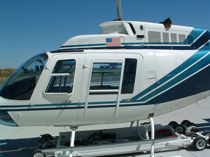 Bell 206B helicopter appraisal