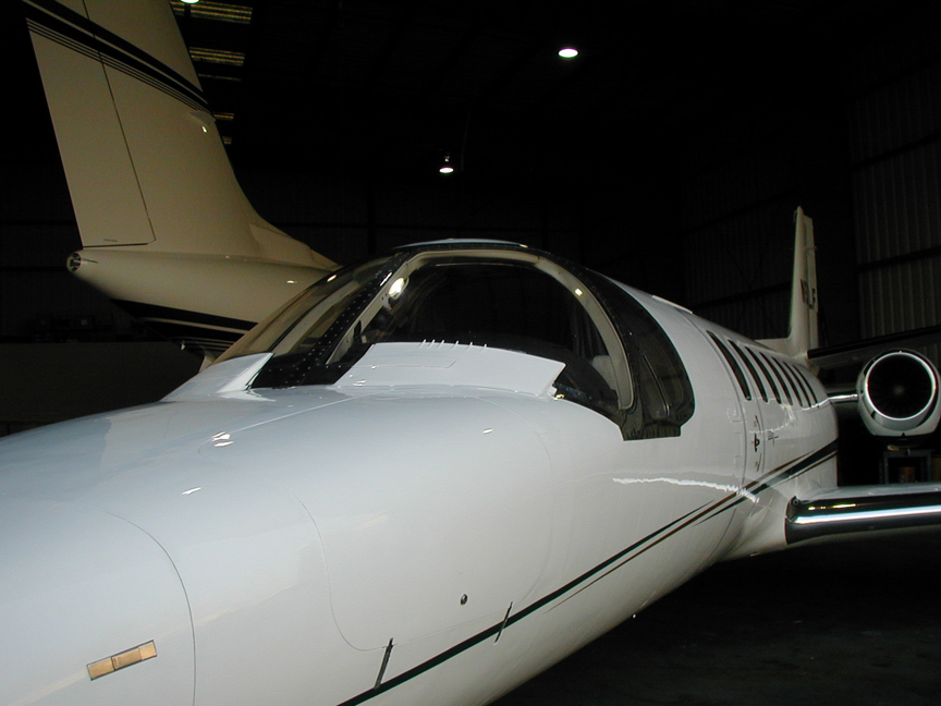 Cessna C560 business jet appraise