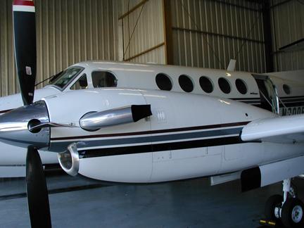 Beech King Air airplane appraisal