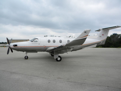 Pilatus PC-12 airplane appraisal